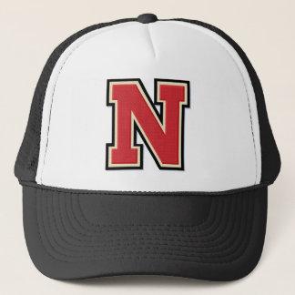 Varsity Letter N Monogram Trucker Hat