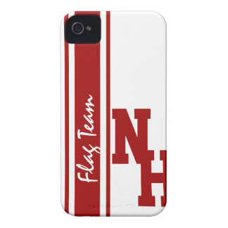 Varsity Letters Red Case-Mate iPhone 4 Case