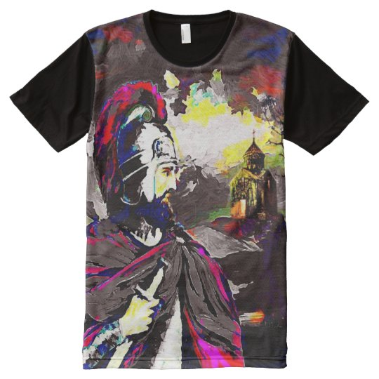 Vartan Mamikonian All-Over Printed Tshirt