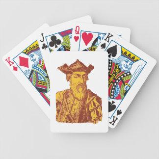 Vasco Da Gama Bicycle Playing Cards
