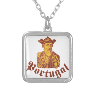 Vasco Da Gama Portugal Silver Plated Necklace