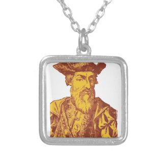 Vasco Da Gama Silver Plated Necklace