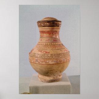 Vase à Hu avec le couvercle Poster