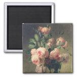 Vase de fleurs 2 magnet carré