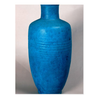 Vase in the form of a straight necked bottle postcard