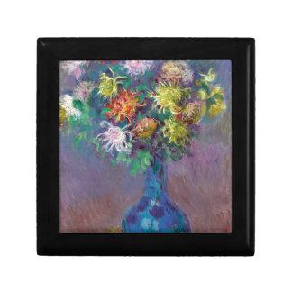 Vase of Chrysanthemums Claude Monet Gift Box