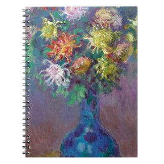 Vase of Chrysanthemums Claude Monet Notebook