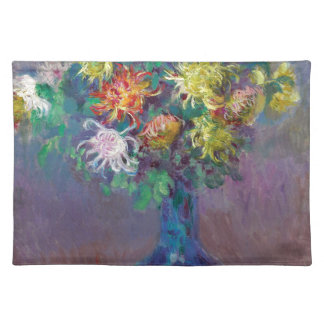 Vase of Chrysanthemums Claude Monet Placemat