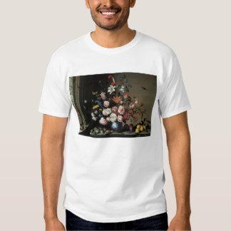 Vase of Flowers by a Window, Balthasar van der Ast T-shirts