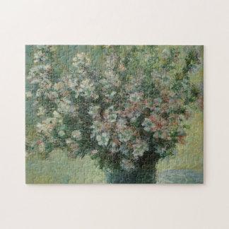 Vase of Flowers by Claude Monet, Vintage Fine Art Puzzles