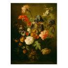 Vase of Flowers by Jan van Huysum Postcard