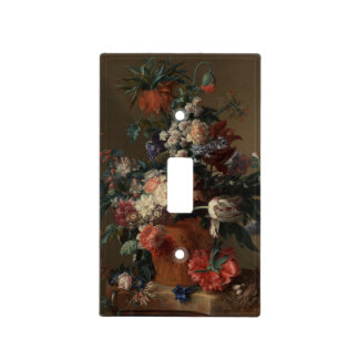 Vase of Flowers Classic Painting Light Switch Cover