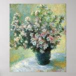 Vase of Flowers Fine Art by Claude Monet