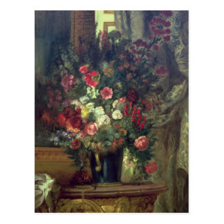 Vase of Flowers on a Console, 1848-49 Postcard