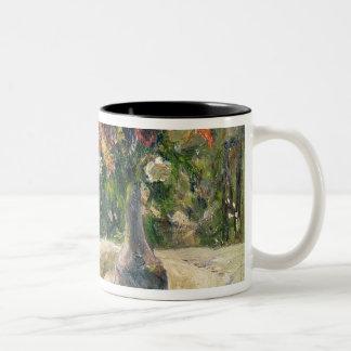 Vase of Flowers Two-Tone Coffee Mug