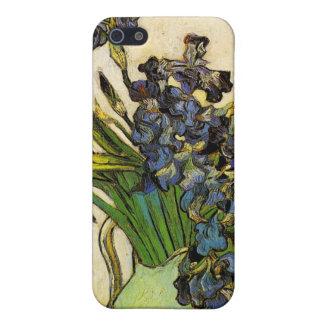 Vase of Irises, Van Gogh Covers For iPhone 5