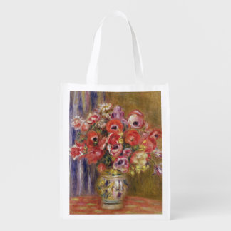 Vase of Tulips and Anemones, c.1895 Market Totes
