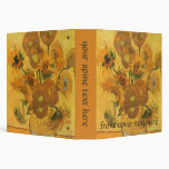 Vase with 15 Sunflowers by Van Gogh Vintage Flower