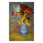 Vase with daisies and anemones - Van Gogh Posters
