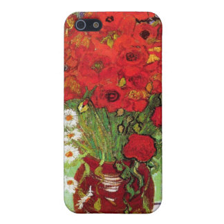 Vase with Daisies and Poppies, Van Gogh Case For iPhone 5/5S