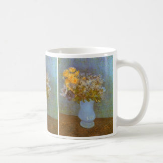 Vase with Lilacs and Daisies by Vincent van Gogh Coffee Mug