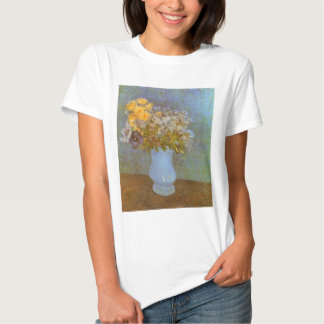 Vase with Lilacs and Daisies by Vincent van Gogh Tshirts