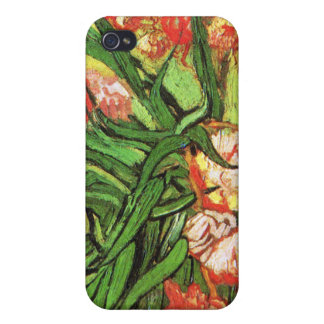 Vase with Oleanders and Books, Van Gogh iPhone 4/4S Covers