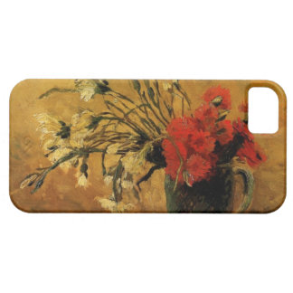 vase with red and white carnations, van Gogh iPhone 5 Case