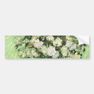 Vase with Roses - Van Gogh Bumper Sticker