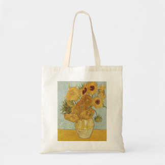 Vase with Twelve Sunflowers by Van Gogh Tote Bag