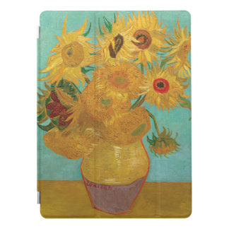 Vase with Twelve Sunflowers by Vincent Van Gog iPad Pro Cover