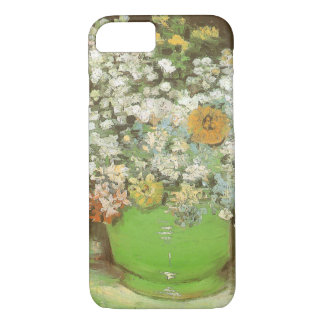 Vase with Zinnias and Flowers by Vincent van Gogh iPhone 7 Case
