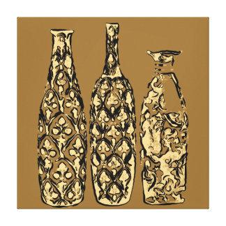 Vases dans style POP Art - OB-0021G Toile Tendue