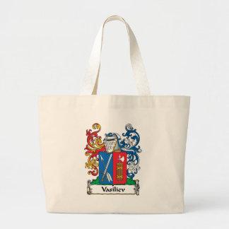 Vasiliev Family Crest Jumbo Tote Bag
