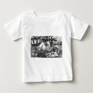 Vasiliy Luzhsky on vacation in London's Hyde Park Baby T-Shirt