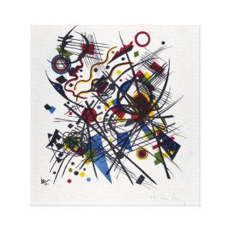 Vasily Kandinsky Lithograph Canvas Print