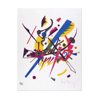 Vasily Kandinsky Small Worlds I Canvas Print