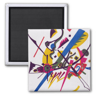 Vasily Kandinsky Small Worlds I Magnet
