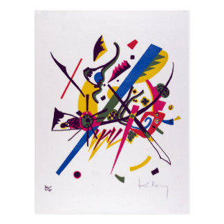 Vasily Kandinsky Small Worlds I Postcard