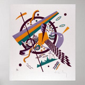 Vasily Kandinsky Small Worlds IV Poster