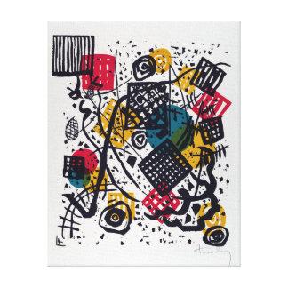 Vasily Kandinsky Small Worlds V Canvas Print