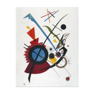 Vasily Kandinsky Violett Canvas Print
