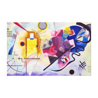 Vasily Kandinsky Yellow-Red-Blue Canvas Print