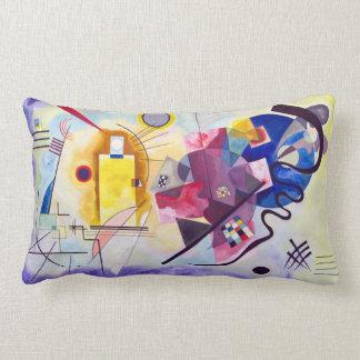Vasily Kandinsky Yellow-Red-Blue Lumbar Pillow