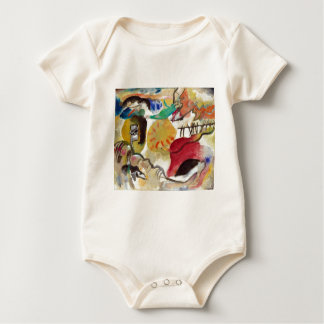Vasily Kandisnky Garden of Love Baby Bodysuit