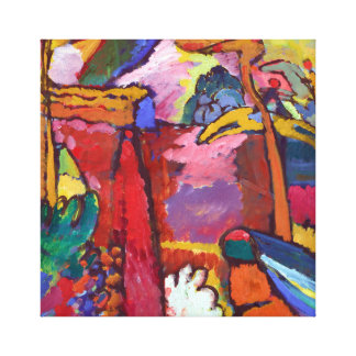 Vasily Kandisnky Garden of Love Canvas Print
