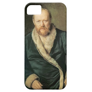 Vasily Perov- Portrait of Playwright Alexander iPhone 5 Cover