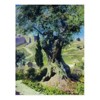 Vasily Polenov- An Olive Tree in the Garden Postcard