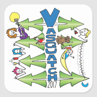 Vasquatch 2017 - Small Sticker