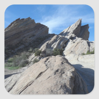 Vasquez Rocks, California Square Sticker